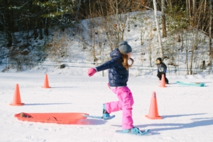 Kids Snowshoe Shuffle; photo by Emily Lord