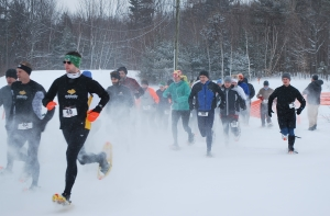 Racers head off on the Annual Moose Mountain RunAround